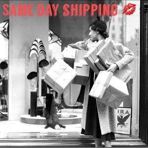 SAME DAY SHIPPING!!!